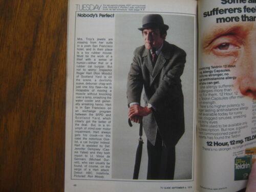 1979 TV FALL PREVIEW TV Guide(JAMES BROGAN/CALIFORNIA FEVER/RON MOODY