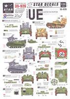 Star Decals 1/35 Renault Ue Tankette In French & German Markings