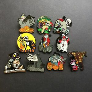 Mystery-Collection-The-Nightmare-Before-Christmas-10-Pin-Set-Disney-Pin-80014