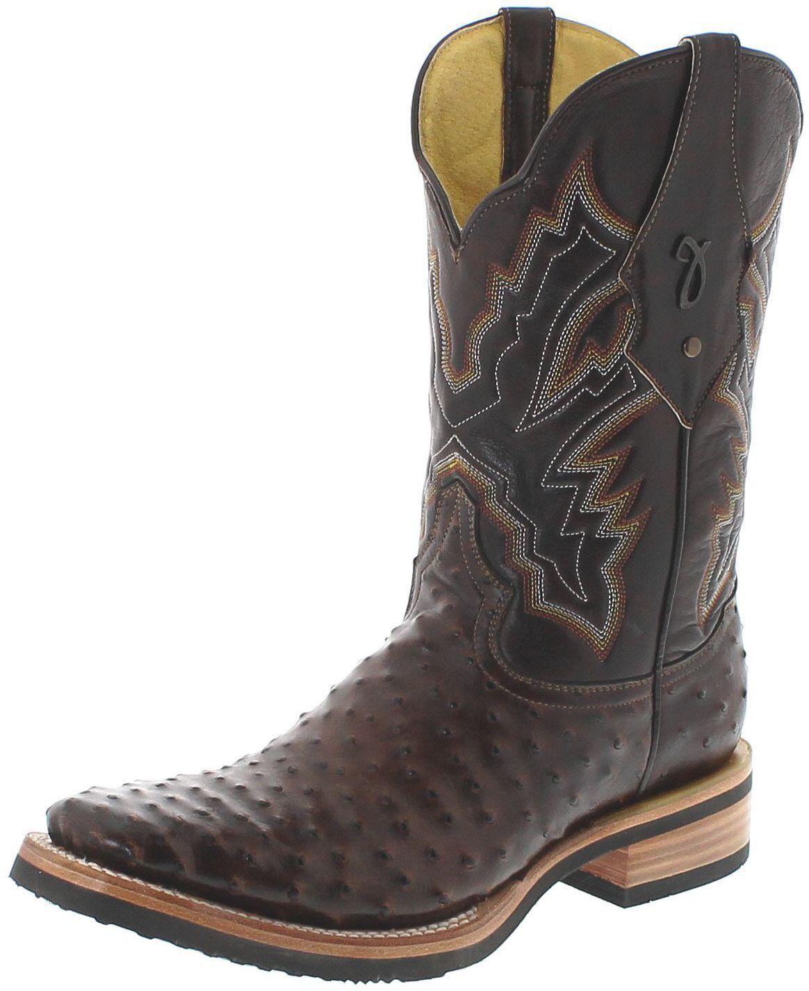 FB fashion botas by botas Jaca ca1598 choco cafe botas de cuero para hombre marrón