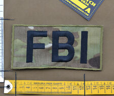 "Ricamata / Embroidered Patch ""FBI Big"" Multicam with VELCRO® brand hook"