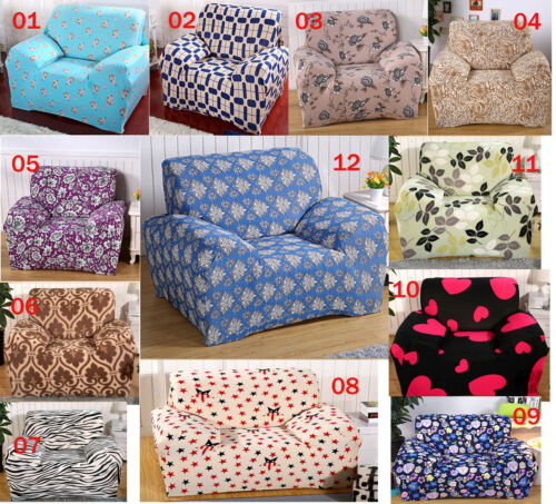 Pattern Textured Lounge Couch Stretch Sofa Cover 1 Seater 2 Seater 3 Seater