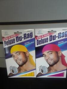 Shiny /& Silky Deluxe Du Rag Durag -HOT PINK-NEW!!!!!!!!!!!!!!! Smooth /& Thick