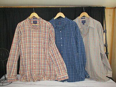 NWT Men/'s Visconti Black Button Front Long Sleeve Shirt Reg $145 Sz Small 3XLT