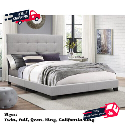 Bed Frame With Headboard Low Profile