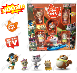 44 gatti Personaggi BUFFYCATS collezione giocattolo bambino bimba action figure