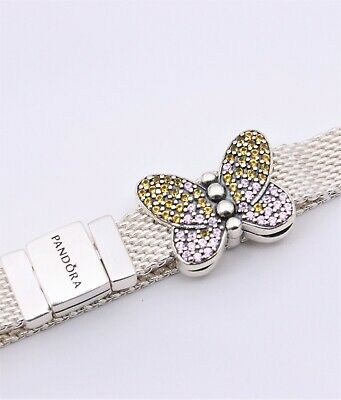 pandora butterfly clip charm