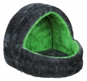 Cuddly Bed Fluffy Cave House for Guinea Pig Rabbit Ferret Rat Hamster by Trixie