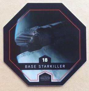 Jeton Cosmic Shells Star Wars Leclerc n°18 QUI GON JINN Cartes de collection Cartes à l'unité