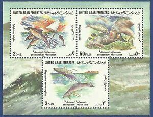 UAE-UNITED-ARAB-EMIRATES-MNH-1996-MARINE-LIFE-ENVIRONMENT-PROTECTION-FISH