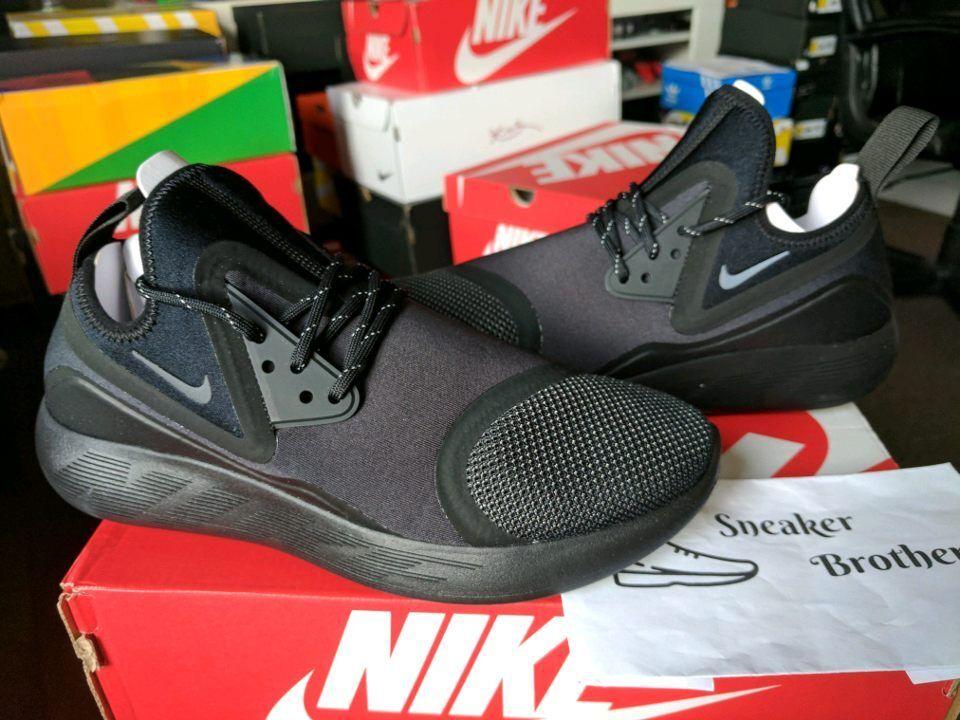 Nike lunarcharge wesentlichen le triple schwarz aus anthrazit - volt - neon 923619-001