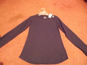justice-girls-size-8-long-sleeve-black-top-nwt