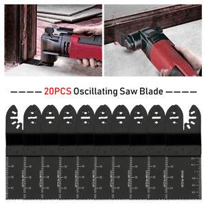 20-Saw-Blade-Oscillating-Multi-Tool-For-Fein-Bosch-Milwaukee-Porter-Cable-Dewalt