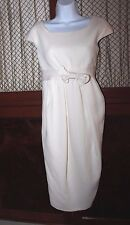 Giambattista Valli Ivory Wool Dress size 42 EUR