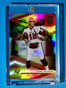 Tom Brady TAMPA BAY DONRUSS ELITE HOLOFOIL 2020 GREAT INVESTMENT CARD #84 Mint!