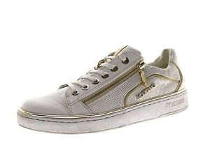 Mustang Damen Schuhe Sneaker Laufschuhe Freizeitschuhe Gr 37 Weiß
