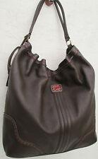 -AUTHENTIQUE grand  sac  à main  BALLY  cuir TBEG vintage  bag