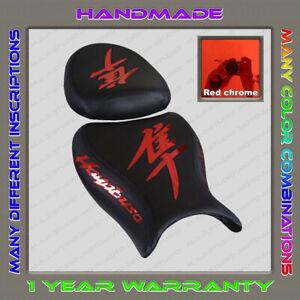 Custom-Black-Red-chrome-mirror-Seat-Cover-Suzuki-GSX1300R-Hayabusa-08-2Gen
