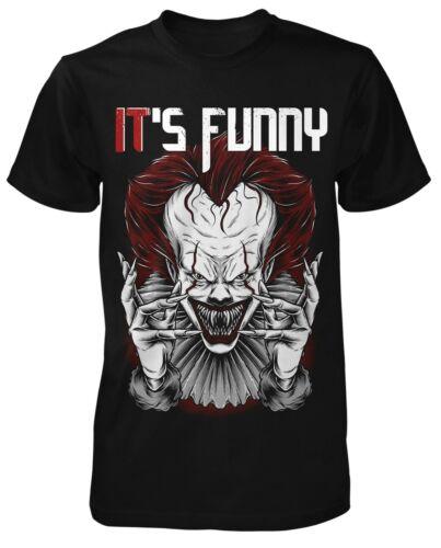 It Is Funny messieurs d/'horreur Clown T-ShirtilFun Shirtd/'horreur-FanFilm