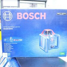 Bosch Grl800 20hvk Self Leveling Rotary Laser Kit New