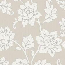 Arthouse Anya Rose Flower Pattern Wallpaper Embossed Vinyl Floral Glitter Motif