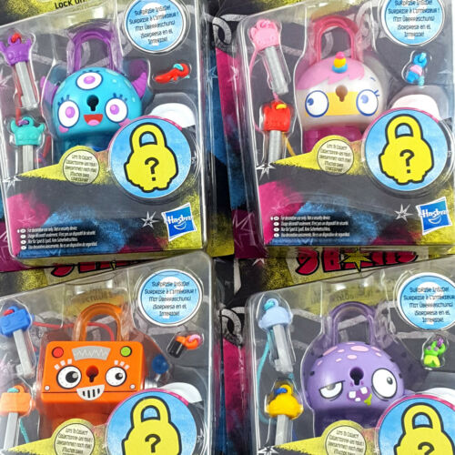 4 X Hasbro Lock Stars Series 1 Job Lot New Sealed Genuine Mystery Prizes Inside