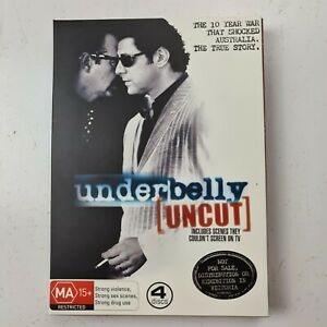 Underbelly-Uncut-DVD-4-Disc-Set-PAL-Region-4-Free-Auspost-Tracked