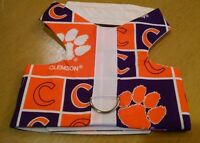 Clemson Vest Dog Harness Xxxs(344-344) Xxs(346-347)xs(348-349)m(350) $20