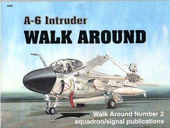A-6 INTRUDER-SQUADRON SIGNAL WALK AROUND N.2-BY LOU DRENDEL