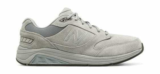 New Balance Men's 928v3 Walking shoes Grey White (Suede)