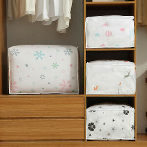 Simple-Foldable-Storage-Bag-Clothes-Blanket-Quilt-Sweater-Organizer-Box-Pouches