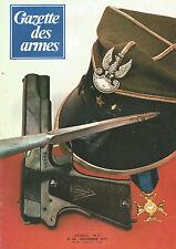"GAZETTE DES ARMES N°54 PISTOLET BRUN-LATRIGE / CLOT ""DIAMONDBACK"" / WERNDL"