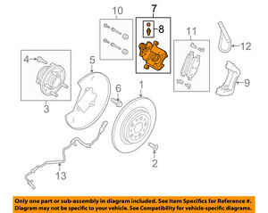 image is loading ford-oem-rear-caliper-cg1z2553a