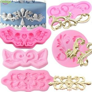 Antique-Carvings-Flower-Silicone-Mould-Cake-Decorating-Chocolate-Baking-Mold-Diy