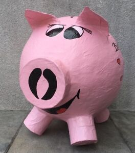 Cochon-Tirelire-XXXL-anniversaire-Cochon-Happy-Birthday-refuter-Briefbox-cartes