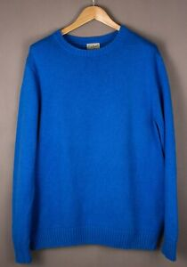 L.L.Bean Herren Freizeit Strick Pullover Größe L ATZ413