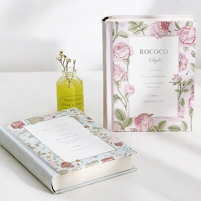 """Miss Rococo"" 1pc Notebook Sketch Hard Cover Diary Cute Planner Blank Paper Memo"