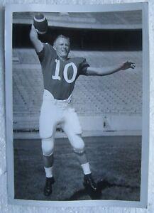 Fred Duda Nebraska Qb Football Photograph Original Circa 1963 1965 Ebay