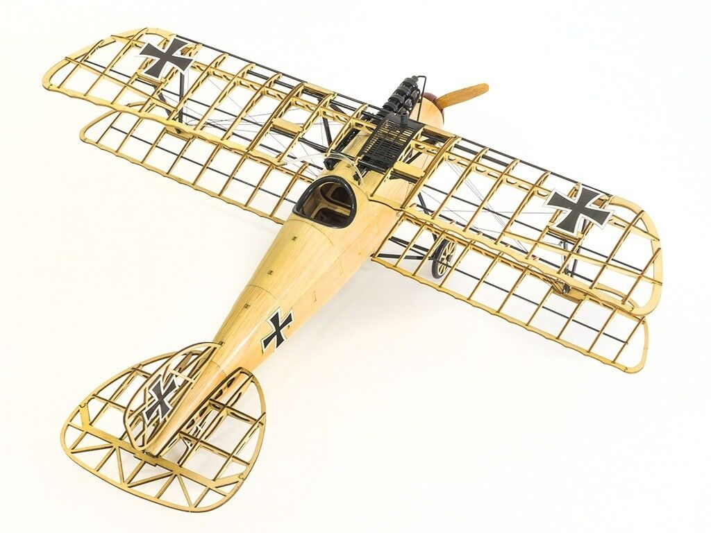 1/15 500mm Albatross D.III Balsa Wood Replica Handicraft Static Model Plane