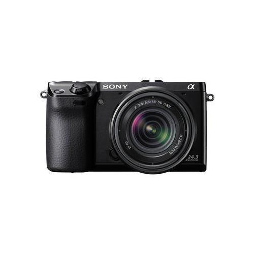 Sony alpha nex 7 digital camera with 18 55mm lens black