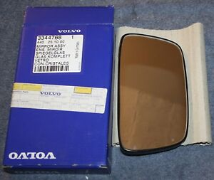 Volvo-440-460-480-Spiegelglas-L-rearview-mirror-glas-NOS-new-old-stock