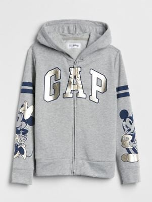 NWT Gap Kids Disney Mickey /& Minnie Mouse Hoodie