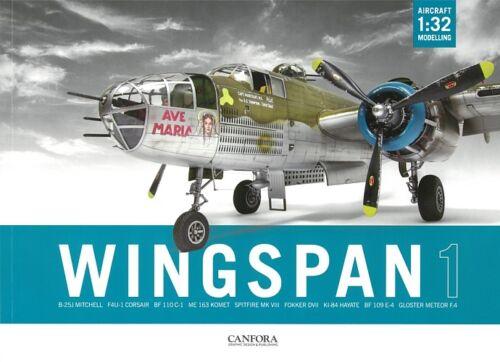 Wingspan 1-1:32 Aircraft Modelling Flugzeug//Modellbau//Handbuch//Anleitung//WW2