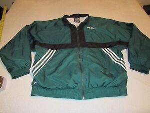 Details about VINTAGE ADIDAS EQT TRACK JACKET SIZE XL GREEN AND BLACK