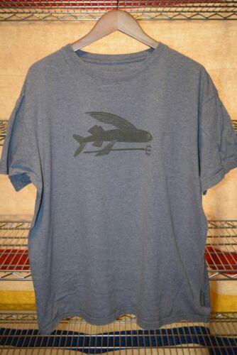 Patagonia 100% Organic Cotton Gray t shirt Men's X