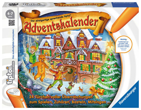 Calendario Avvento Ravensburger.Di Dell Avvento Calendario Tiptoi Natale Ravensburger
