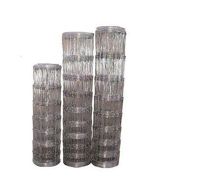 STOCK FENCING SHEEP, PIG L8/80/15,GALVANISED 50MT Light -Free Shipping