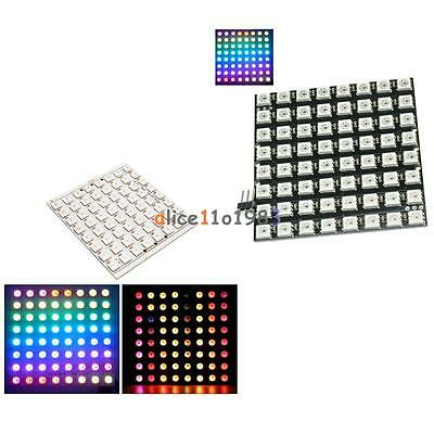 1X WS2812 5050 RGB LED Ring 24Bit RGB LED Integrated Drivers For Arduino neQP