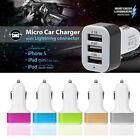 Mini Triple 3-Port USB In-Car Socket Charger Adapter For iPhone 5 6s Samsung HTC