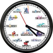 Final Fantsy XII Fantasy Terra Zidane iRole Playing Game Decor Sign Wall Clock